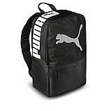 Чорний спортивний рюкзак пума, Puma. Для тренувань, навчання., фото 2