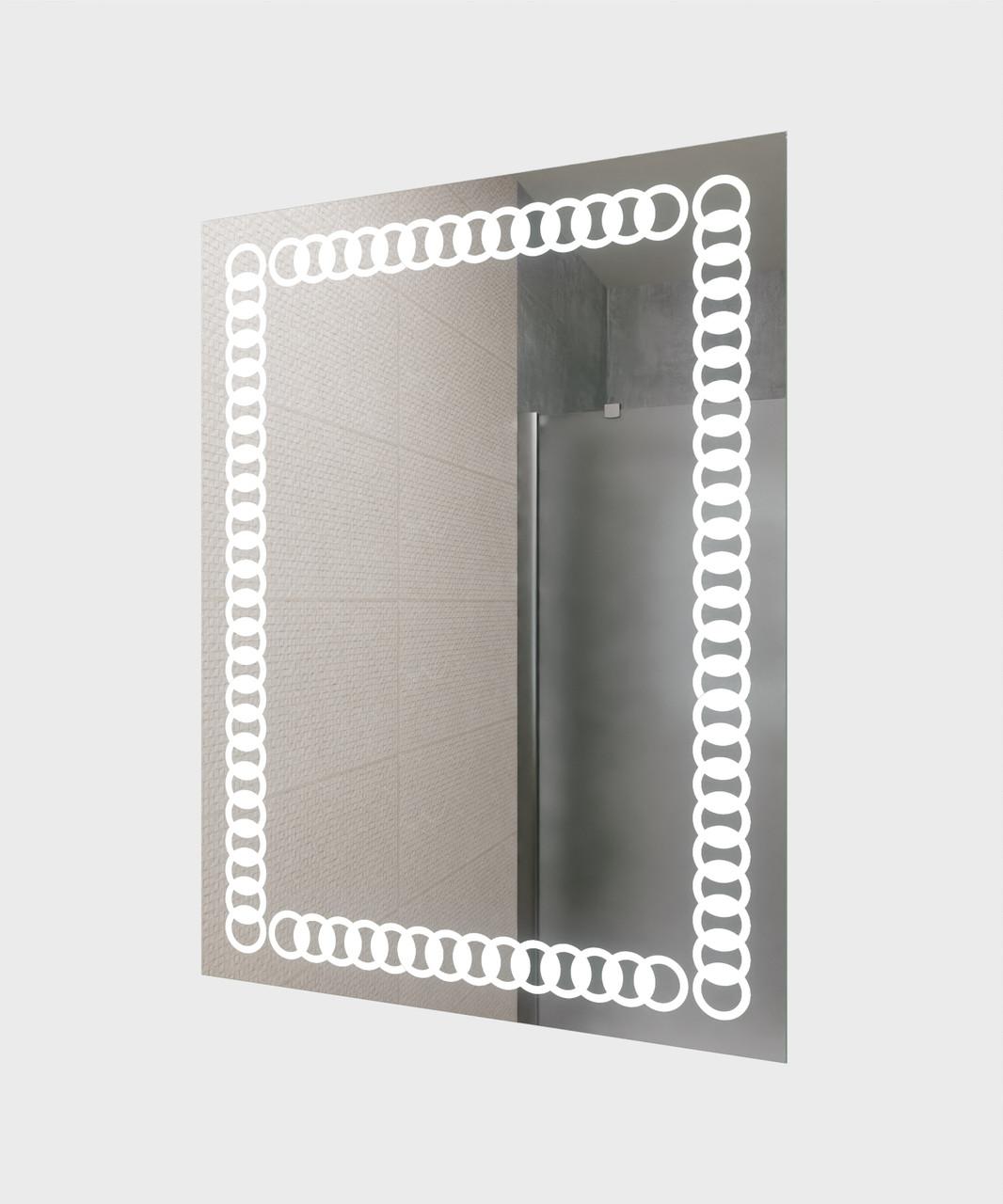 Зеркало LED (60*80*2,5см) VZ-AL-D79
