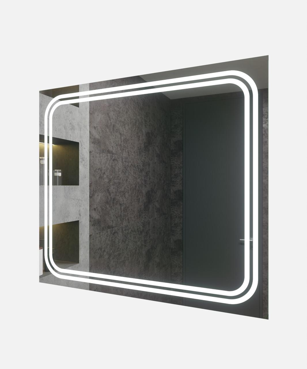 Зеркало LED (90*80*2,5см) VZ-AL-D66