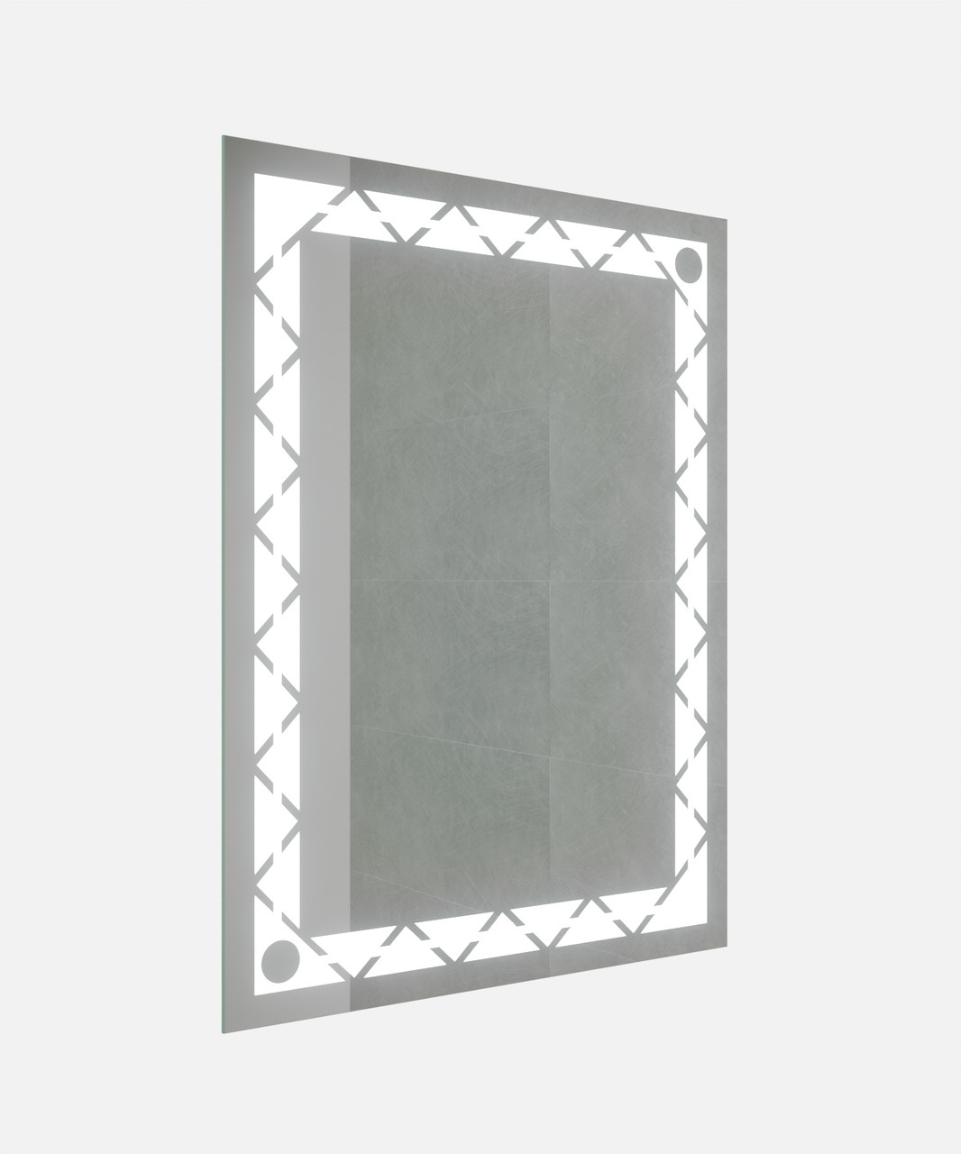 Зеркало LED (60*80*2,5см) VZ-AL-D65