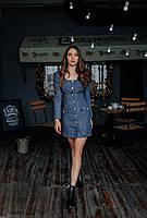 Нарядное платье из твида, фото 2
