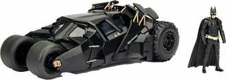Машина металлическая Jada Бэтмен (2008) Бэтмобиль Темного Рыцаря + фигурка Бэтмена 1:24 (253215005)