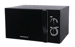 Микроволновая печь GRUNHELM 23MX723-B черная 23л 800Вт 5 уровней мощн электрон управл таймер 35 мин