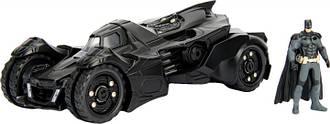 Машина металлическая Jada Бэтмен (2015) Бэтмобиль Рыцарь Аркхема + фигурка Бэтмена 1:24 (253215004)