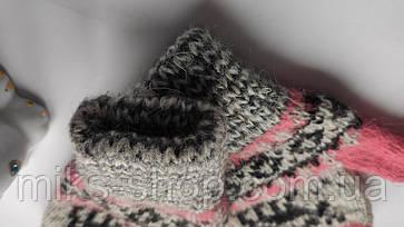Рукавиці рукавиці 100 % шерсть на 2-4 р, фото 3