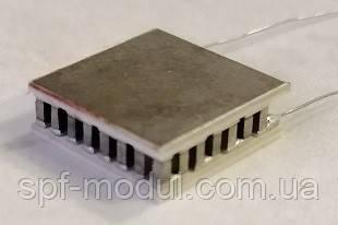 MT0,62-1,5-31cMT1prt (12х12) Термоэлектрический охлаждающий модуль Пельтье, фото 2