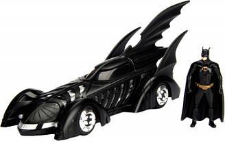 Машина металлическая Jada Бэтмен навсегда (1995) Бэтмобиль + фигурка Бэтмена 1:24 (253215003)