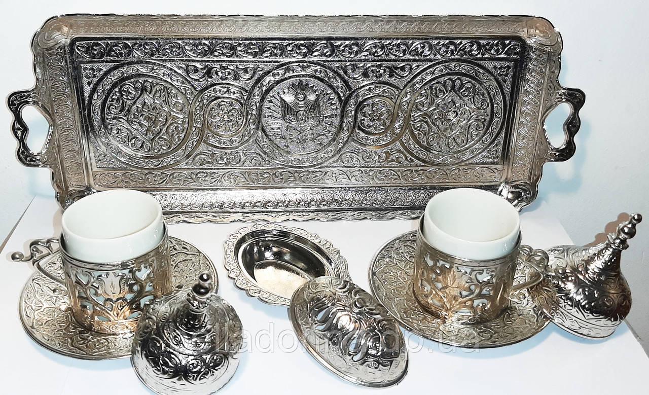 Турецкий кофейный набор на 2 персоны