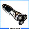 Електробритва Gemei GM-7719 - професійна, безпровідна, потужна чоловіча бритва з плаваючими головками, фото 2