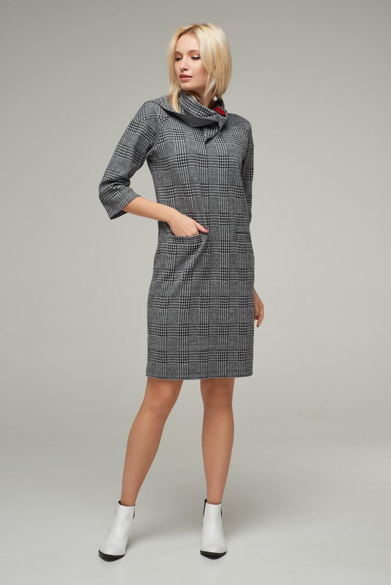 2239 платье Кристи, клетка (S)