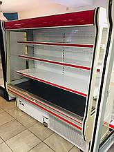 Холодильная пристенная витрина (горка, регал) Cold R20