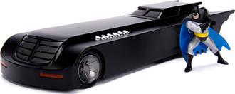 Машина металлическая Jada Бэтмен Бэтмобиль из мультсериала + фигурка Бэтмена 1:24 (253215007)