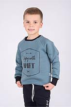 Детский батник свитшот для мальчика 4-5 лет, 104-110 см