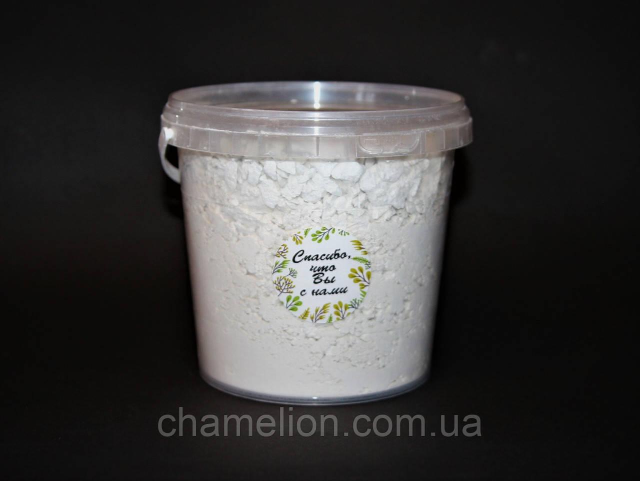 Біла глина каолін порошкообразна 1 кг