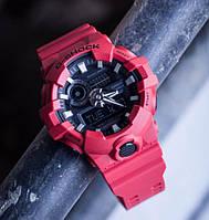 Часы G-SHOCK-3 Красные | Мужские наручные часы | Касио часы мужские