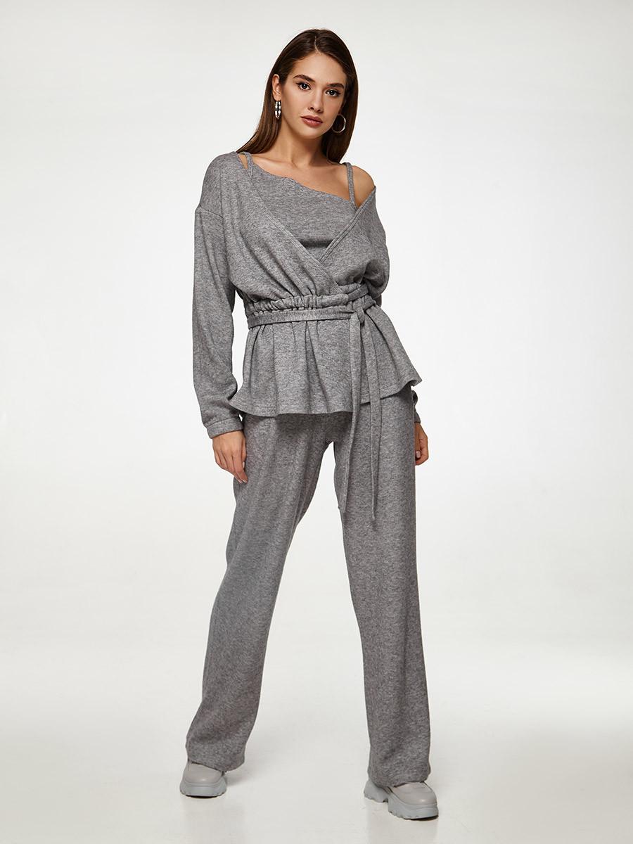 2570 костюм 3-ка Тринити, серый (S)
