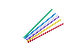 Соломка для мартіні 125 мм, 200 шт. (кольорова) - СУПЕРЦІНА