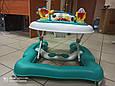 Поворотные Ходунки-прыгунки с игровым центром 5 в 1 CARRELLO Tesoro, фото 3