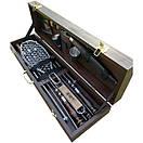 """Набір шампурів для барбекю """"Ведмідь"""" з нержавіючої сталі в дерев'яній коробці, фото 2"""