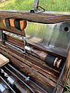 """Набір шампурів для барбекю """"Тигр"""" з нержавіючої сталі в дерев'яній коробці, фото 5"""
