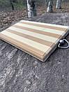 """Набір шампурів для барбекю """"Тигр"""" з нержавіючої сталі в дерев'яній коробці, фото 10"""