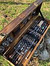 """Набор шампуров для барбекю """"Леопард"""" из нержавеющей стали в деревянной коробке, фото 5"""