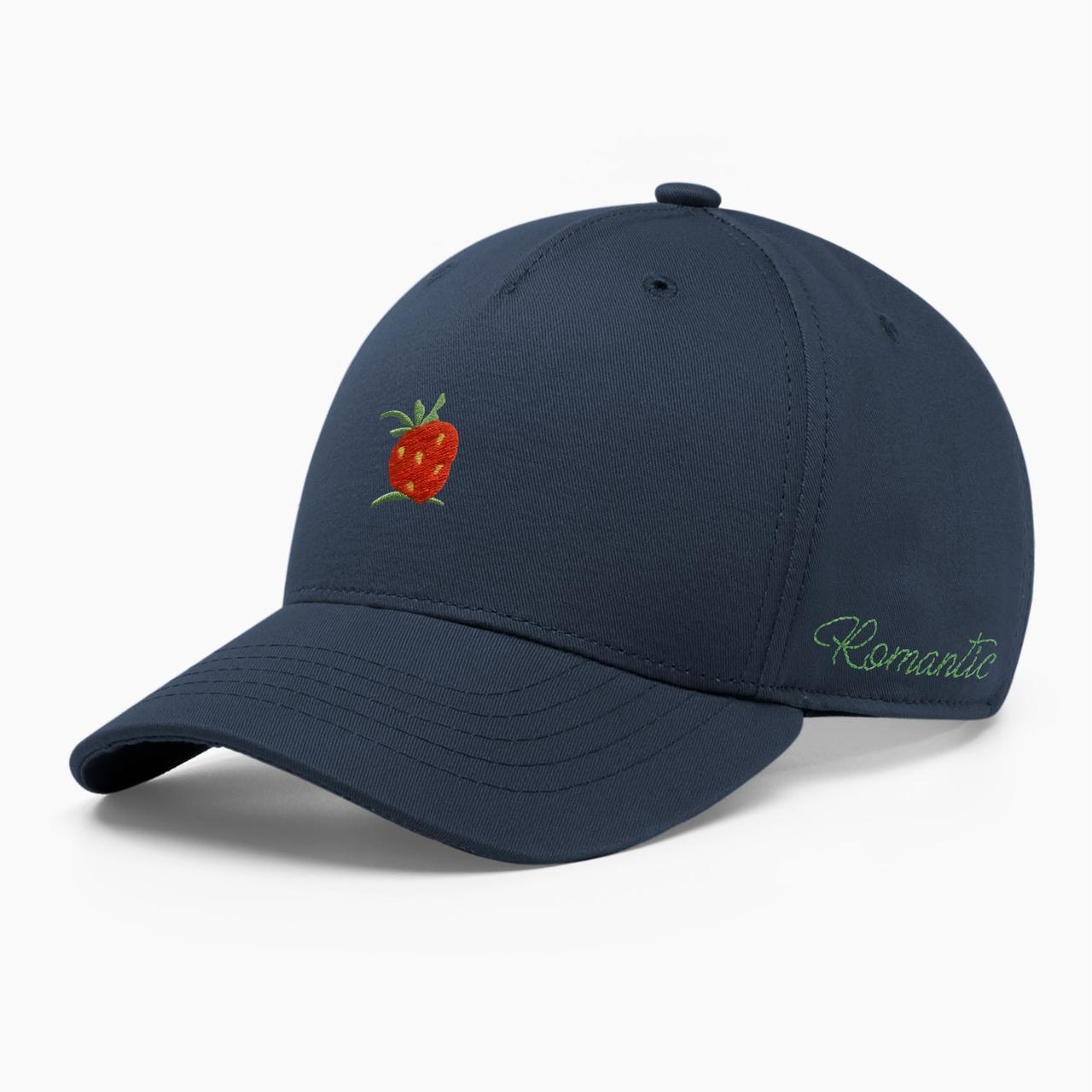 Женская кепка бейсболка INAL strawberry S / 53-54 RU Синий 284053