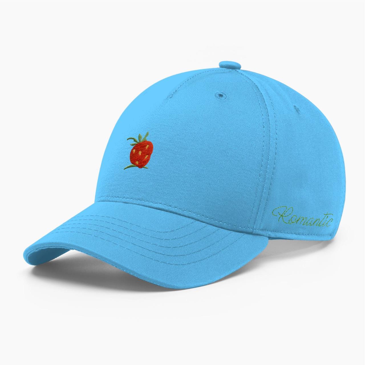 Женская кепка бейсболка INAL strawberry S / 53-54 RU Голубой 284553