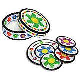 Perler Термомозаіка Перлер 4 000 намистинок яскравих кольорів в кейсі Beads And Stripes Pearls Assorted, фото 6