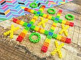 Perler Термомозаіка Перлер 4 000 намистинок яскравих кольорів в кейсі Beads And Stripes Pearls Assorted, фото 9