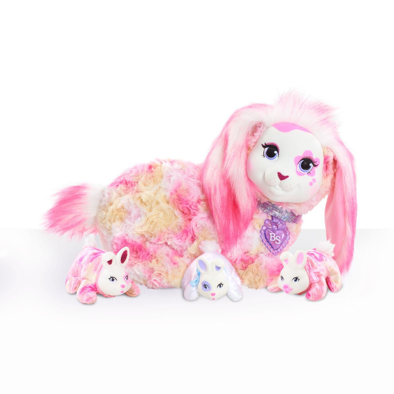 Just Play Bunny Surprise Беременная зайка с сюрпризом Бризи Breezy Plush