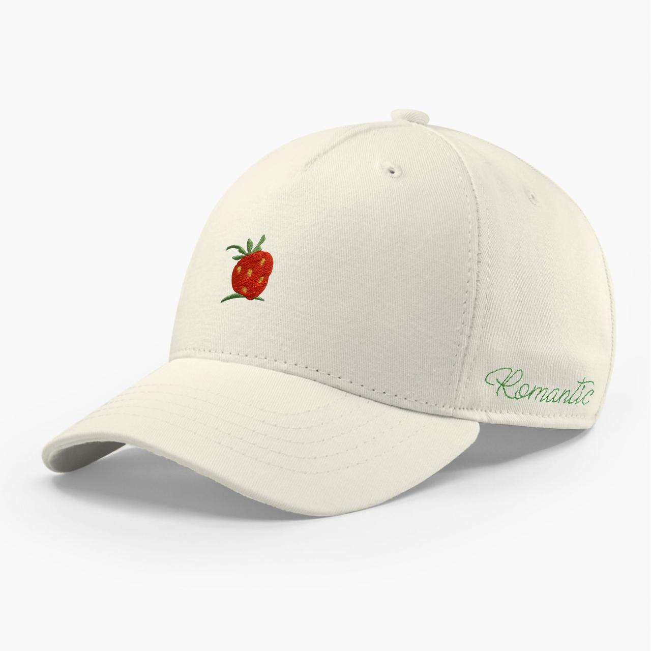 Женская кепка бейсболка INAL strawberry S / 53-54 RU Молочный 285053
