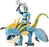 Dreamworks Как приручить дракона 3 дракон Громгильда и Астрид 20103699 Dragons Stormfly and Astrid Armored, фото 2
