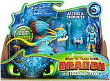 Dreamworks Как приручить дракона 3 дракон Громгильда и Астрид 20103699 Dragons Stormfly and Astrid Armored, фото 3