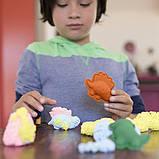 Playfoam Шариковый пластилин с блестками салатовый sparkle, фото 2