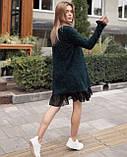 Платье женское Ангора травка серый, чёрный, бежевый, фото 4
