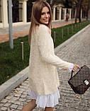 Платье женское Ангора травка серый, чёрный, бежевый, фото 5