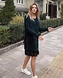 Платье женское Ангора травка серый, чёрный, бежевый, фото 8