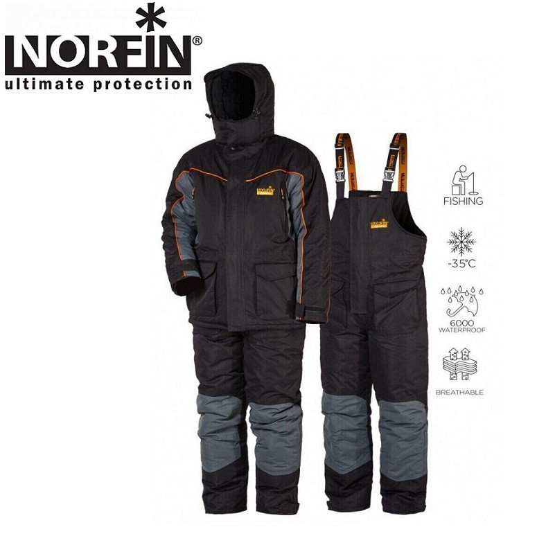 Костюм зимний мембранный Norfin ELEMENT+ -35°