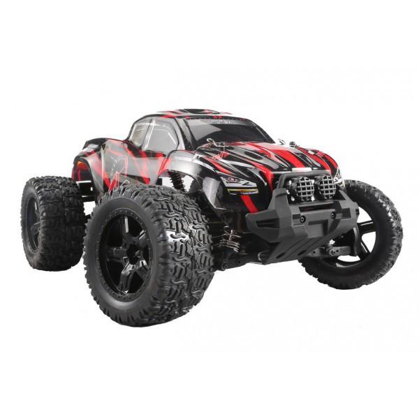 """Радиоуправляемый монстр Remo Hobby """"M max"""" 4WD RTR масштаб 1:10 2.4G - RH1031 (красный) 50 км/час"""