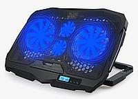 Активная охлаждающая подставка S18 для ноутбука с светодиодной подсветкой, фото 1