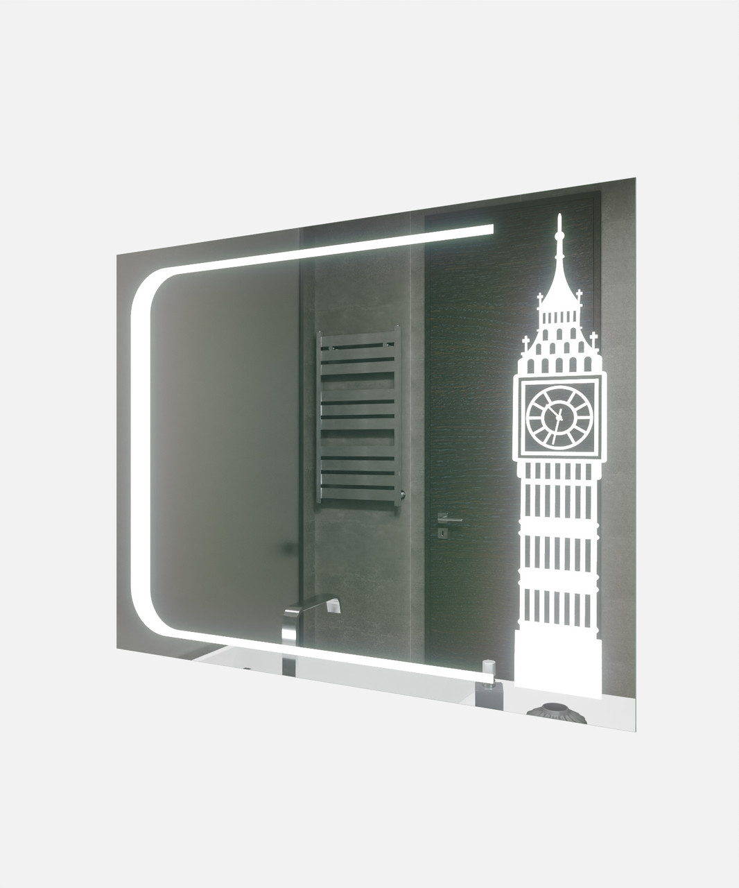 Зеркало LED (100*80*3см) PR-D95