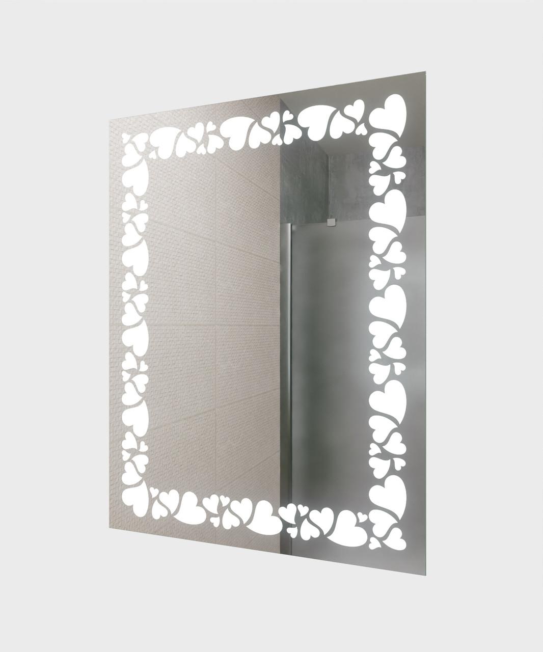 Зеркало LED (60*80*3см) PR-D92 с сенсором (ИК)