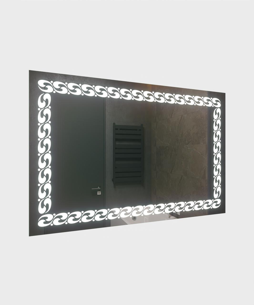 Зеркало LED (90*60*3см) PR-D90