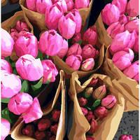 """Картина по номерам """"Голландские тюльпаны"""""""