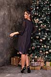 Трикотажне жіноче плаття великий розмір: 50,52,54,56,58,60, фото 5