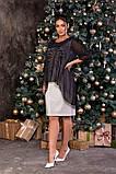 Трикотажне жіноче плаття великий розмір: 50,52,54,56,58,60, фото 3
