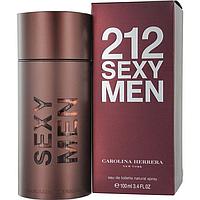 Мужская туалетная вода Carolina Herrera 212 Sexy Men 100 мл, фото 1