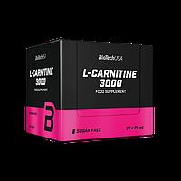 Л-карнитин BioTech L-Carnitine 3000 (20*25 мл) биотеч Лимон