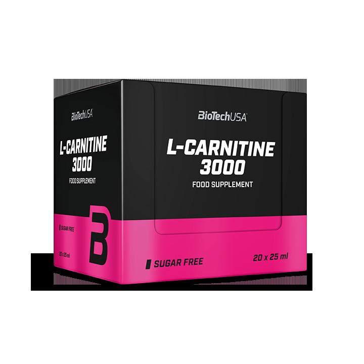 Л-карнитин BioTech L-Carnitine 3000 (20*25 мл) биотеч Апельсин